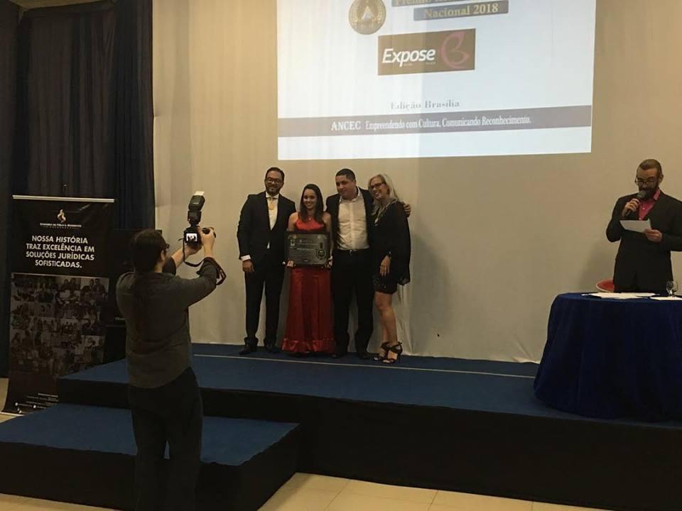 EXPOSE ganha o Prêmio Referência Nacional em Saúde e Estética 2017